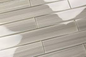 Glass Tiles For Kitchen Backsplash Gray Glass Subway Tile Gainsboro For Kitchen Backsplash Or