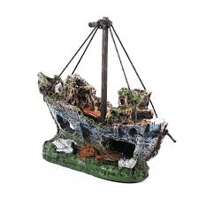 shop new pirate ships in aquariums aquarium landscape
