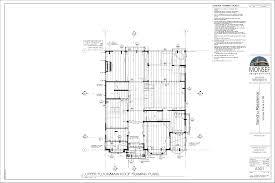 upper floor main roof framing plan monsef donogh design group