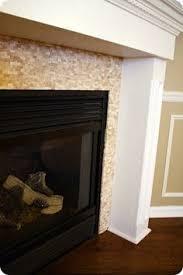 Mosaic Tile Fireplace Surround by New Mosaic Tile Fireplace Home Improvement Ideas Pinterest