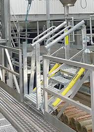 folding stairs help you safely access vehicles of varying heights