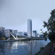 bureau urbanisme passerelle sur la seine bureau faceb architecture urbanisme