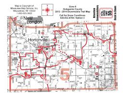 Map Of Central Wisconsin by Snowmobile Club Wisconsin Polar Bear Riders Hortonville Appleton