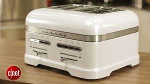Cream 4 Slice Toaster Imposing Plain Kitchen Aid Toaster Kitchenaid Pro Line 4 Slice