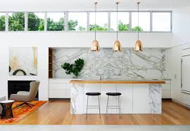 White Marble Kitchen by Interior Luxury Modern Pendant Lighting Kitchen With Golden