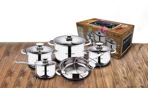 cuisine en batterie de cuisine jusqu à 61 batterie de cuisine blaumann groupon