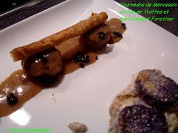 cuisiner du marcassin tournedos de marcassin au jus de truffes croquant forestier