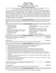 Sample Resume For Accountant Job by Resume Accounting Junior Accountant Sample Resume Resume For
