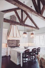 terrific rustic chic kitchen 35 rustic chic kitchen curtains best 25 wooden beams ceiling ideas on pinterest exposed beams