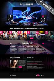music bootstrap templates website templates