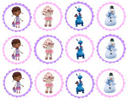 doc mcstuffins cupcake toppers doc mcmuffins printable toppers would be i made a