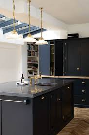 a beautiful shaker kitchen design by devol u2026 belgium blue