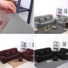 housse de canap extensible canapé extensible housse couverture mode canapé couverture gris