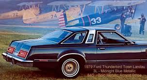 1979 ford thunderbird paint codes