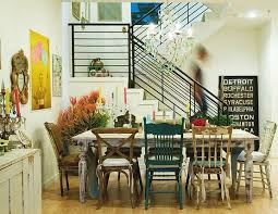 Kitchen Table Setting Ideas Table With Mixed Chairs How To Set A Dining Table Fast Chic