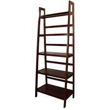 5 Tier Bookshelf Ladder Bookcase Wooden Ladder Shelf Australia Wooden Ladder Shelves Uk