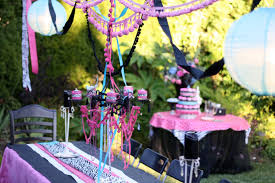 designed by dad teen girls birthday party design dazzle