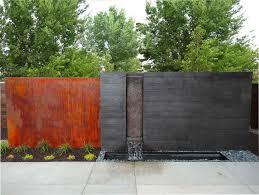 Backyard Feature Wall Ideas Amazing Outdoor Water Walls For Your Backyard Garden Water