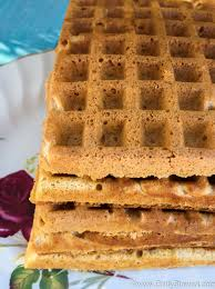 sweet potato waffles using leftovers deliciously