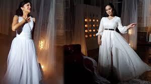 wedding dress nagita slavina suaranya bikin merinding nagita slavina dan marshanda nyanyikan