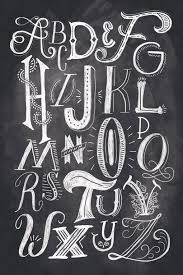 drawn typeface chalkboard pencil and in color drawn typeface