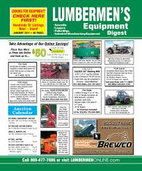 january 2011 lumbermen u0027s equipment digest by lumbermen u0027s