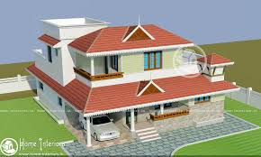 Kerala Home Design May 2015 Double Floor Modern Style Home Design 2015