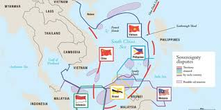 South China Sea Map Why China Has The Right To U0027build Sovereignty U0027 In The South China