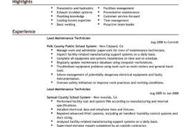 Maintenance Job Resume by Highway Maintenance Resume Sample Reentrycorps