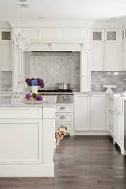 tiles backsplash kitchen backsplash with white cabinets l shape kitchen backsplash with white cabinets l shape wooden cabinet brown mosaic tile beautiful granite countertops gray accents and glass pendant lights