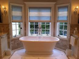 Roman Shades For Bathroom Luxury Bathroom Window Treatments With Roman Shades Nytexas
