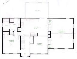 colonial floor plans open floor plans colonial home deco plans
