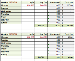 Tracking Spreadsheet Excel Free 6 Free Timesheet Templates For Tracking Employee Hours