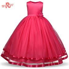 aliexpress com buy rbvh flower dress for weddings kids prom