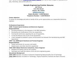 Sample Resume For Freshers Engineers by Standard Resume Template Standard Resume Standard Resume Format