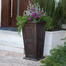 decor tall planters front door planters flower planters