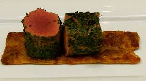 chevreuil cuisine sous vide selle de chevreuil en manteau d herbes et poivre des