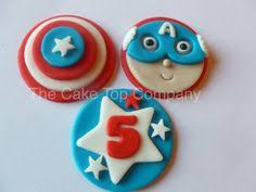superhero cakepops superman captain america spiderman hulk