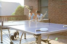 black friday ping pong table amazon com stiga baja outdoor table tennis table sports u0026 outdoors