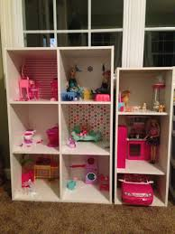 the perfect homemade barbie house shelving from target thumb