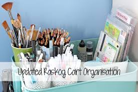 Raskog Cart Updated Raskog Cart Organisation The Card Grotto Youtube