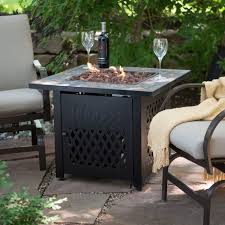 Patio Propane Heater by Patio Fire Pit Table Propane Gas Outdoor Fireplace Tabletop Heater