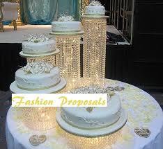 wedding cake stand cascading wedding cake stands wedding corners