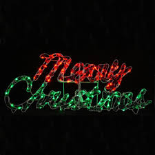 Outdoor Lighted Christmas Wall Decorations by 60