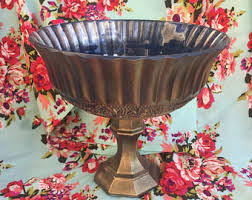 Pedestal Bowls For Centerpieces Beautiful Hand Crafted Centerpieces For Wedding By Peonyandpetunia