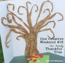 thanksgiving traditions for kids thankful tree tutorial onecreativemommy com