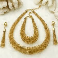 african necklace earrings images 2018 free shipping african jewelry fashion women gold jewelry jpg