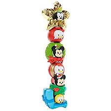 amazon 6 disney tsum tsum stackable holiday figures