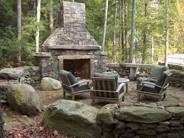 garden fireplace design 12 outdoor fireplace plans add warmth and