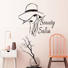 online buy wholesale beauty salon walls stickers from china beauty beautiful lady styling vinyl wall sticker beauty salon removable self adhesive wallpaper for beauty salon shop